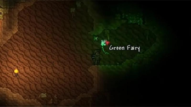 Дружественные феи в Terraria 1.4 Journey's End