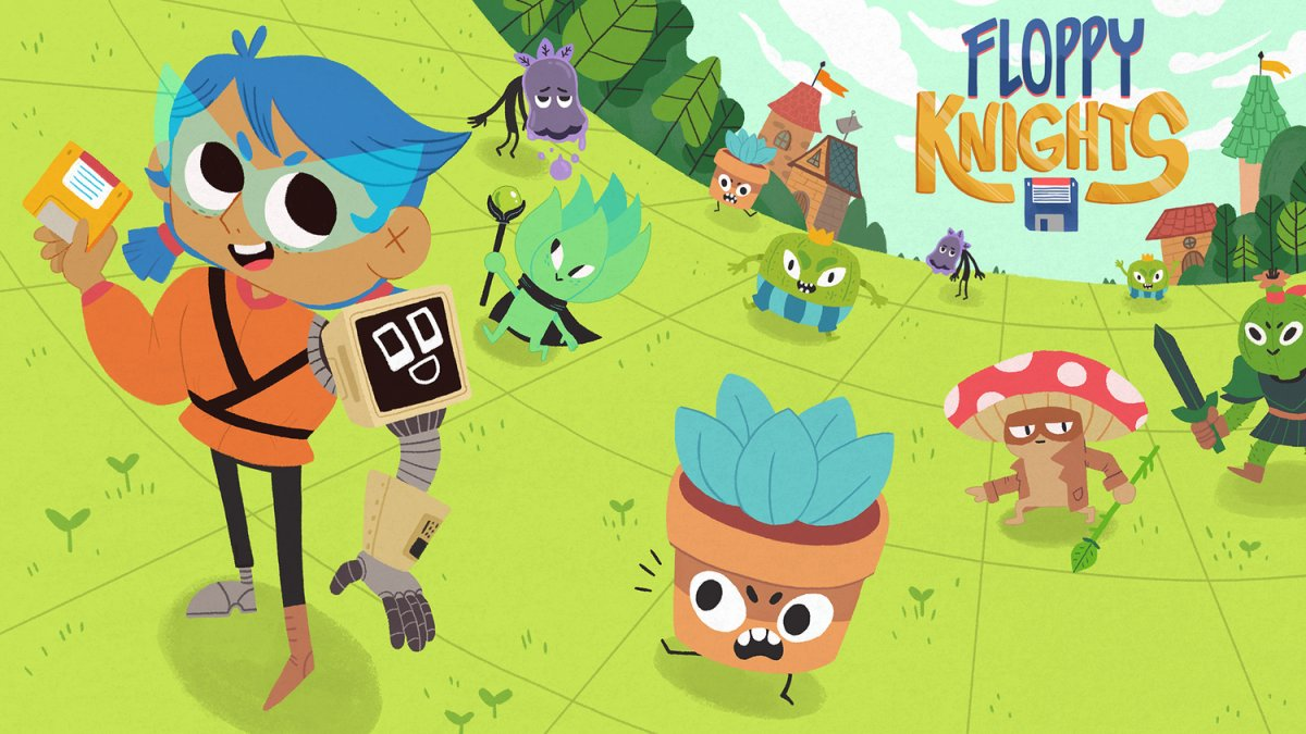 Floppy Knights — новая карточная стратегия с налетом Dicey Dungeons