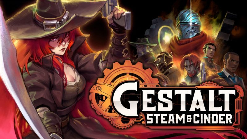 Gestalt: Steam and Cinder — новый платформер в завораживающем стимпанк-мире