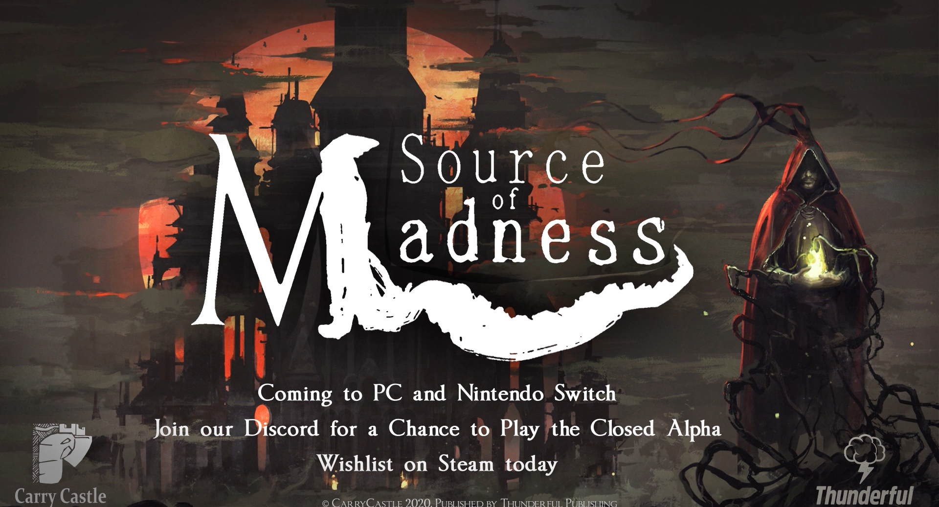 Source of Madness — лавкрафтовский рогалик, построенный нейросетью