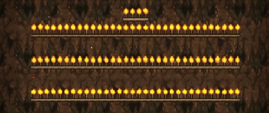 Испытание Бога Факелов в Terraria 1.4 Journey's End