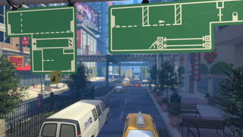 Создание пазлов из дорожных знаков в The Pedestrian
