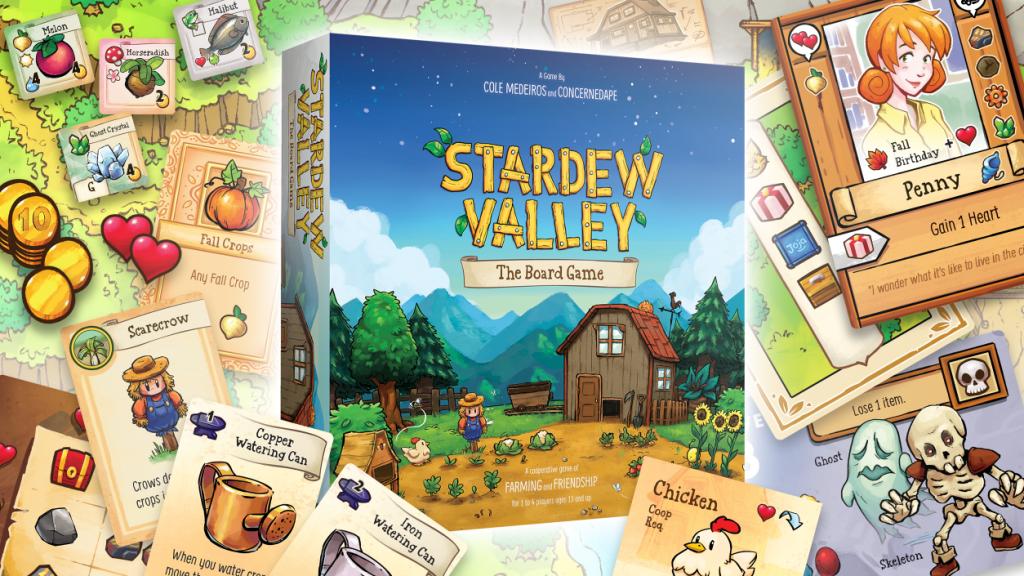 Stardew Valley The Board Game — настольная игра по мотивам популярной песочницы