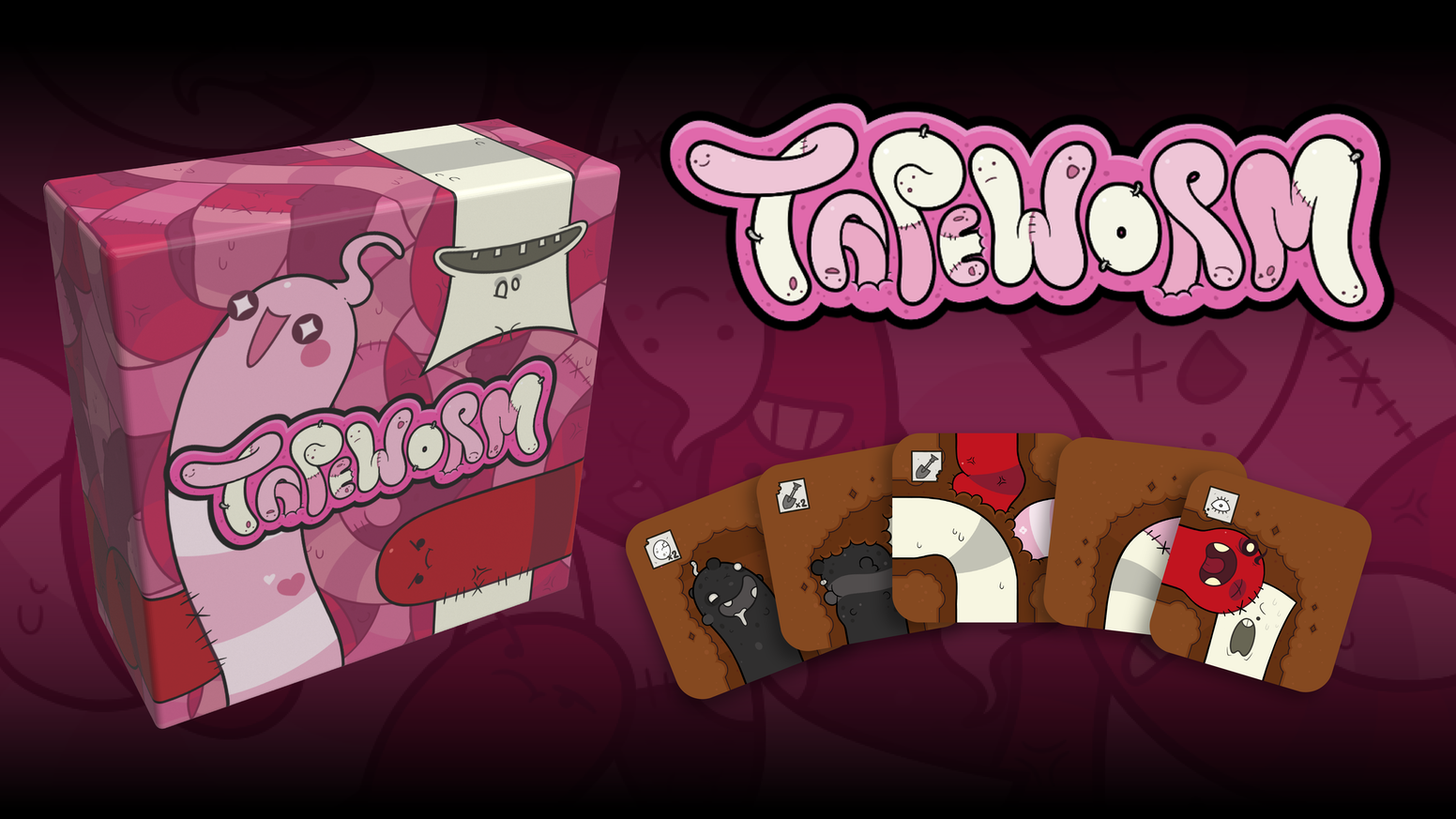 Tapeworm — настольная игра от автора The Binding of Isaac